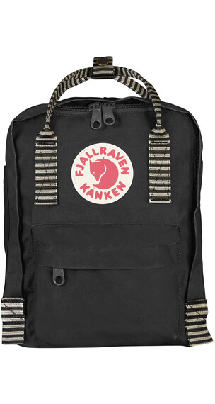 Fjällräven Kånken Mini Backpack Black-Striped